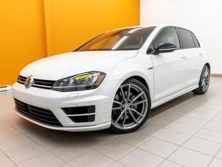 Used 2017 Volkswagen Golf R 4MOTION ALERTES AUDIO FENDER RÉG ADAPT NAV *CUIR* for sale in St-Jérôme, QC