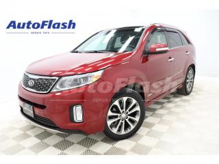 Used 2015 Kia Sorento SX V6 AWD *CUIR/LEATHER *GPS/CAMERA *TOIT-PANO for sale in St-Hubert, QC