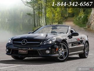 Used 2009 Mercedes-Benz SL 63 AMG 6.2L V8 AMG | CLEAN CARFAX | LOADED | HARDTOP for sale in Oakville, ON