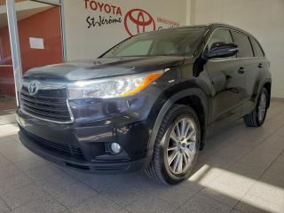 Used 2016 Toyota Highlander * AWD * XLE * CUIR * TOIT OUVRANT * GPS * for sale in Mirabel, QC