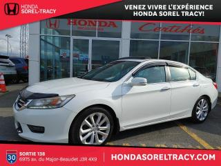 Used 2014 Honda Accord Touring for sale in Sorel-Tracy, QC
