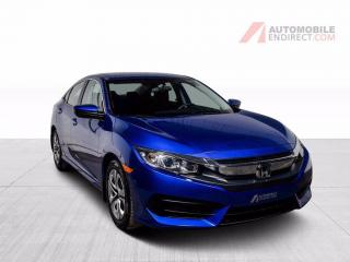Used 2017 Honda Civic LX A/C CAMERA DE RECUL for sale in Île-Perrot, QC