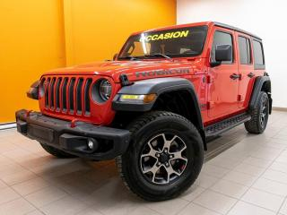 Used 2019 Jeep Wrangler RUBICON 4X4 SIÈGES / VOLANT CHAUFFANT *NAV* for sale in Mirabel, QC