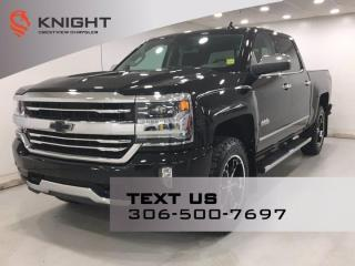 Used 2017 Chevrolet Silverado 1500 High Country Crew Cab | Leather | Navigation | Sunroof | for sale in Regina, SK
