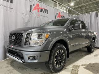 Used 2019 Nissan Titan 4X4 CREW CAB PRO-4X for sale in Rouyn-Noranda, QC