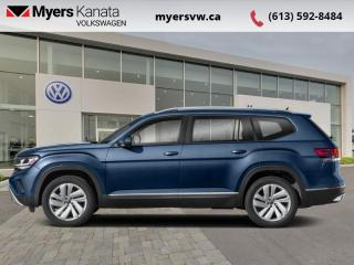 New 2021 Volkswagen Atlas Comfortline 3.6 FSI  - Power Liftgate for sale in Kanata, ON