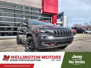 New 2021 Jeep Cherokee Trailhawk Elite for sale in Guelph, ON