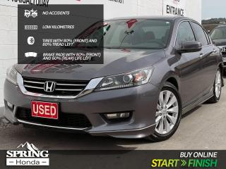 Used 2014 Honda Accord EX-L NO ACCIDENTS, LOW MILEAGE, WELL MAINTAINED, ONE OWNER for sale in Cranbrook, BC
