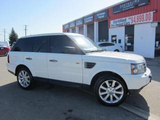 Used 2007 Land Rover Range Rover Sport HSE $11,995+HST+LIC FEE / ALL WHEEL DRIVE / CERTIFIED for sale in North York, ON