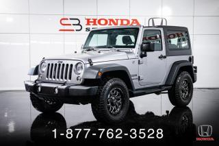 Used 2015 Jeep Wrangler SPORT + 2 PORTES + A/C + AUTO + WOW! for sale in St-Basile-le-Grand, QC