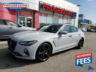 Used 2019 Genesis G70 3.3T Sport NAV / SUNROOF / BACK UP CAMERA for sale in Sarnia, ON