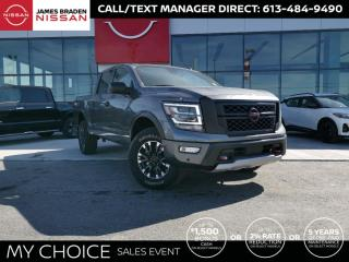 New 2021 Nissan Titan Pro-4X for sale in Kingston, ON