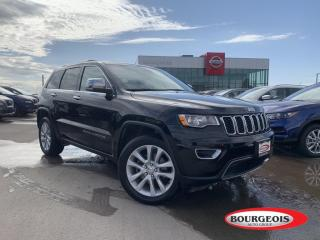 Used 2017 Jeep Grand Cherokee Limited REAR HEATED SEATS, NAVIGATION, SUNROOF, PUSH BUTTON STAR for sale in Midland, ON