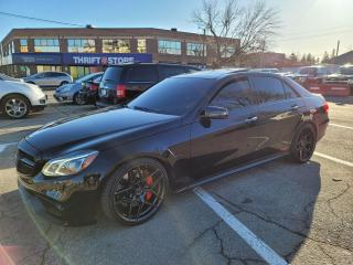 Used 2014 Mercedes-Benz E-Class E 63 AMG S-Model for sale in Milton, ON