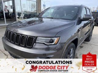 New 2021 Jeep Grand Cherokee 80th Anniversary Edition-4WD,Nav,Htd/Vented Seats,Remote Start for sale in Saskatoon, SK