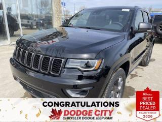 New 2021 Jeep Grand Cherokee 80th Anniversary Edition-4WD,Nav, Park-Assist,WiFi for sale in Saskatoon, SK