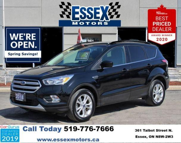 2018 Ford Escape SE*Heated Seats*Bluetooth/SYNC*Backup Cam