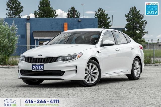 2018 Kia Optima LX|Clean Carfax|Heated seats and Steering|