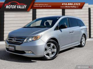 Used 2013 Honda Odyssey Touring Navigation / Camera / DVD / No Accident! for sale in Scarborough, ON
