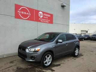 Used 2014 Mitsubishi RVR SE/AWD/BRAKE ASSIST/BLUE TOOTH/HEATED SEATS for sale in Edmonton, AB