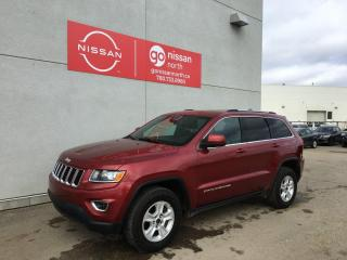 Used 2015 Jeep Grand Cherokee 4X4/V6/BLUE TOOTH/PUSH START/KEYLSESS ENTRY/POWER SEATS/REMOTE START for sale in Edmonton, AB