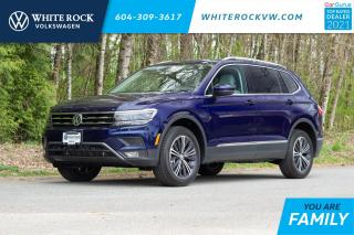 New 2021 Volkswagen Tiguan Highline *DRIVERS ASSIST* *DIGITAL DASH**ADAPTIVE CRUISE* *LEATHER* *SUNROOF* for sale in Surrey, BC