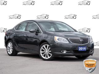 Used 2014 Buick Verano Leather Package Selling AS IS  / AS TRADED  | CLEAN CARFAX  |  2 Sets of Wheels for sale in St Catharines, ON
