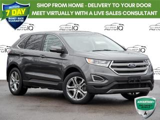 Used 2017 Ford Edge Titanium Panoranic Sunroof | Leather Trimmed Interior | Navigation | Clean Car Fax for sale in St Catharines, ON