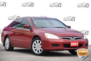 Used 2007 Honda Accord EX V6 NAV | MOONROOF | LEATHER | 3.0L V6 for sale in Kitchener, ON