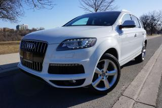 Used 2012 Audi Q7 S-LINE / NO ACCIDENTS / LOCAL / STUNNING SHAPE for sale in Etobicoke, ON