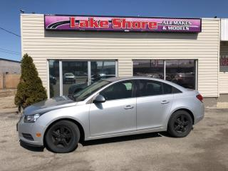 Used 2012 Chevrolet Cruze LT Turbo+ w/1SB Bluetooth for sale in Tilbury, ON