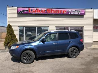 Used 2013 Subaru Forester X Convenience SUNROOF for sale in Tilbury, ON