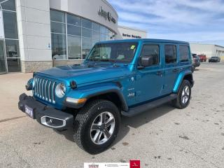 Used 2019 Jeep Wrangler Unlimited Nav/Heated Seats and Wheel for sale in Chatham, ON