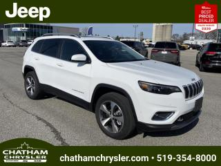 New 2021 Jeep Cherokee Limited for sale in Chatham, ON