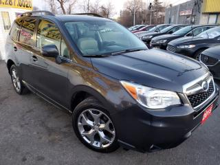 Used 2015 Subaru Forester i Limited/NAVI/CAMERA/LEATHER/ROOF/LOADED/ALLOYS for sale in Scarborough, ON