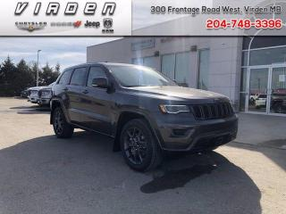 New 2021 Jeep Grand Cherokee 80th Anniversary Edition for sale in Virden, MB