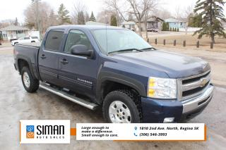 Used 2010 Chevrolet Silverado 1500 LT CREW CAB 4x4 Z71 for sale in Regina, SK