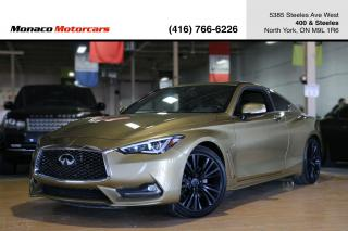 Used 2017 Infiniti Q60 3.0T AWD - TECH PKG|BLINDSPOT|LANEASSIST|360CAMERA for sale in North York, ON