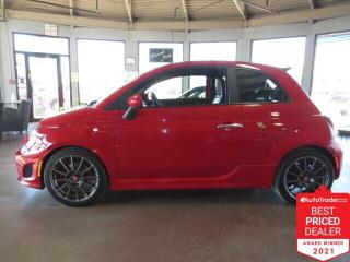 Used 2014 Fiat 500 C 2dr Convertible Abarth - Nav/Htd Seats/Bluetooth for sale in Winnipeg, MB
