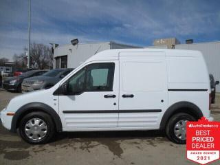 Used 2010 Ford Transit Connect 114.6  XLT w-rear door glass-  Cargo for sale in Winnipeg, MB