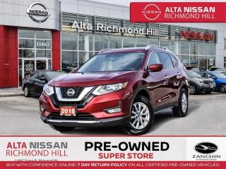 Used 2018 Nissan Rogue SV Tech PKG   360CAM   Navi   PWR Liftgate   Pano for sale in Richmond Hill, ON