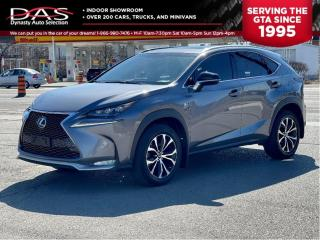 Used 2017 Lexus NX 200t AWD F Sport Navigation/Sunroof/Camera for sale in North York, ON