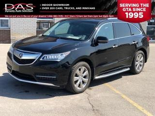 Used 2014 Acura MDX Elite Pkg Navigation/DVD/Sunroof/Camera for sale in North York, ON