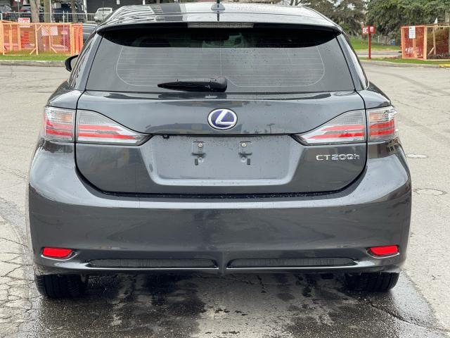 2011 Lexus CT 200h TECH PKG HYBRID NAVIGATION/REAR VIEW CAMERA Photo5