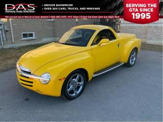 Used 2005 Chevrolet SSR CONVERTIBLE/MANUAL SUPERCHARGED for sale in North York, ON