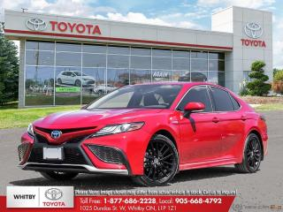 New 2021 Toyota Camry Hybrid XSE for sale in Whitby, ON