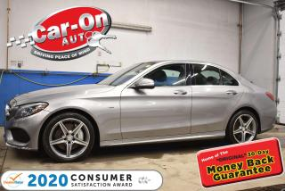 Used 2015 Mercedes-Benz C-Class C400 w/ PANO ROOF   AMG PKG   SPORT PKG for sale in Ottawa, ON