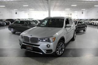 Used 2017 BMW X3 XDRIVE28i NO ACCIDENTS I NAVIGATION I PANOROOF I REAR CAMERA for sale in Mississauga, ON