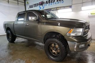 Used 2012 Dodge Ram 1500 SLT CREW HEMI CERTIFIED 2YR WARRANTY *1 OWNER* BLUETOOTH CRUISE ALLOYS for sale in Milton, ON