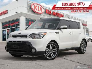 Used 2016 Kia Soul 5dr Wgn Auto SX Luxury - ONE OWNER | CLEAN CARFAX for sale in Oakville, ON